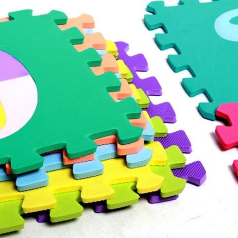 Bộ 26 miếng thảm lót sàn cho bé - bộ chữ cái size lớn 30 x 30 cm