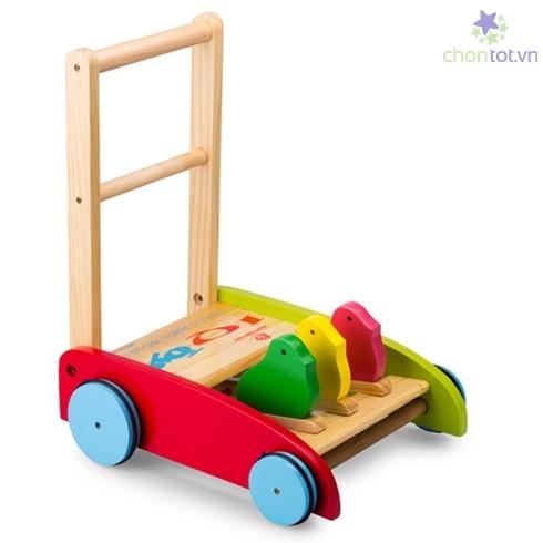 Xe gỗ tập đi cho bé Song Son hàng Việt Nam chất lượng cao - DT0013