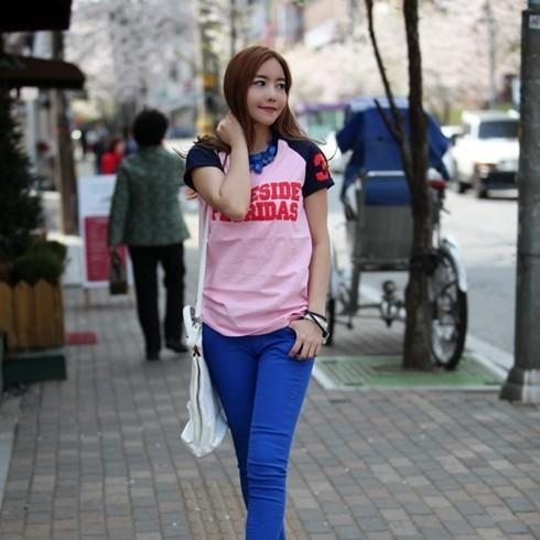 Áo Thun Nữ Kiểu Hàn Quốc ST 603 - DT0002