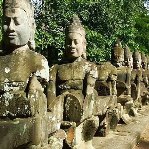 *Tour SiemReap - Angkor - PhnomPenh 4N3Đ - KS 3, 4*