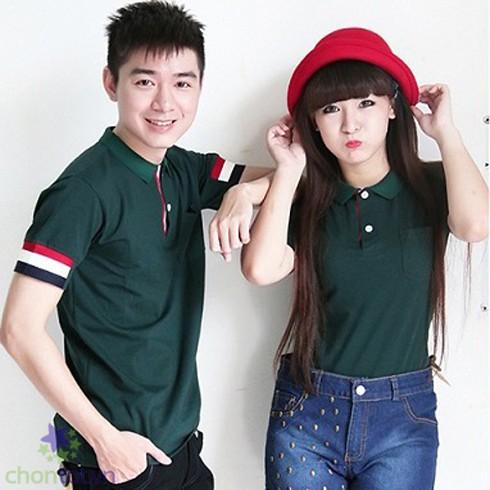 Áo Cặp Có Cổ Tay Bo Thời Trang CC33 - DT0002