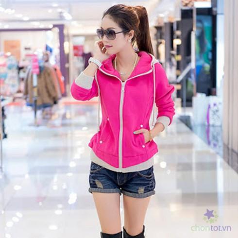 Áo Khoác Pink Color LV090 - DT0024
