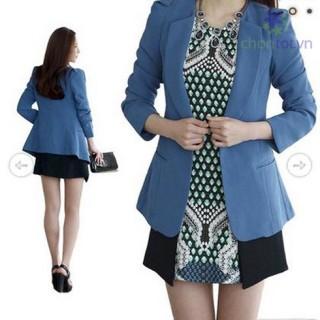 Áo khoác vest Hàn Quốc thời trang LV072 - DT0024