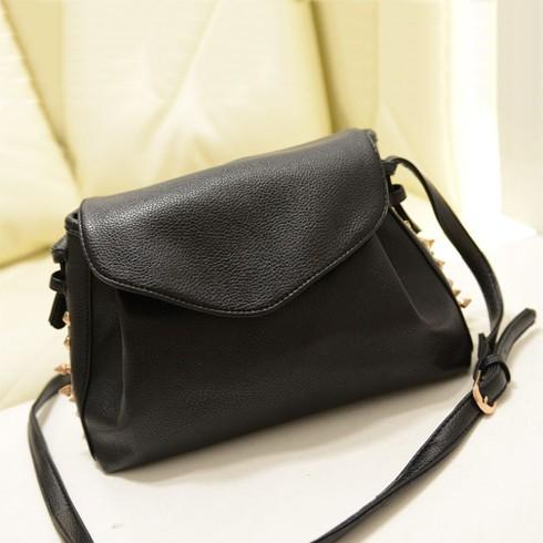Túi xách Mini Đeo Chéo Bao Thư Nạm Đinh Hình Hộp TX3908 - DT0024