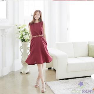 Đầm Xòe Thời Trang Hàn Quốc LV258 - DT0024