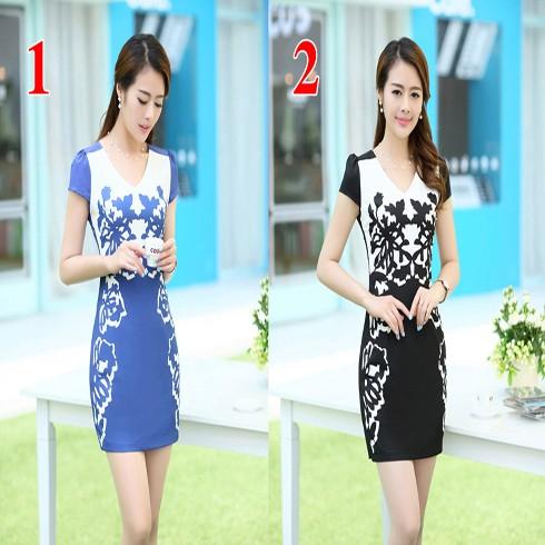 Váy Suông Họa Tiết Trẻ Trung HT3364D - DT0031