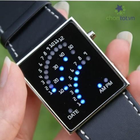 Đồng hồ Led nam cánh quạt cực độc - DT0026