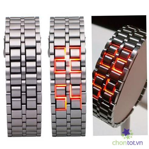 Đồng hồ nam Led samurai siêu mới 2014 - DT0026