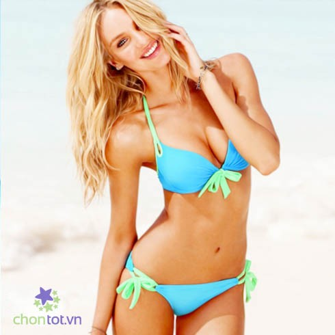 Bikini 2 mảnh phối màu - DT0036