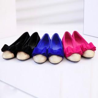 Giày Búp Bê Đính Nơ - DT0036