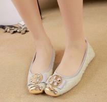 Giày Búp Bê Mũi Vàng - DT0036