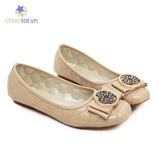 Giày Búp Bê Mũi Vuông Độc Đáo - DT0036