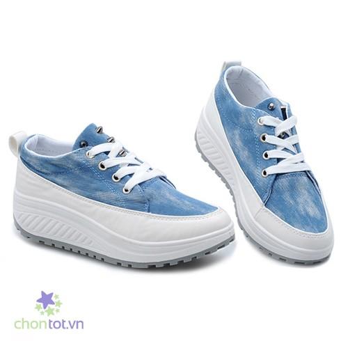 Giày Thể Thao Nữ Vải Jean - DT0036