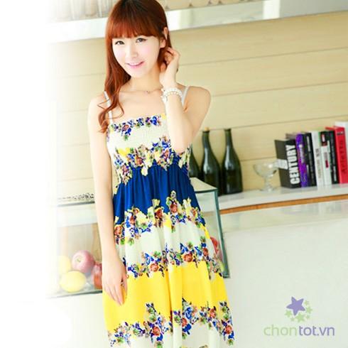 Đầm Hoa Xinh Xắn - DT0036