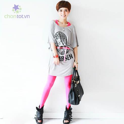 Quần legging color - DT0036