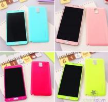 Case Color Dành Cho Note 3 (Tặng giá đỡ điện thoại) - DT0036