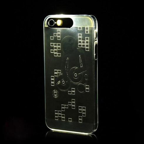 Case Led phát sáng dùng cho iphone 5/5s - DT0036