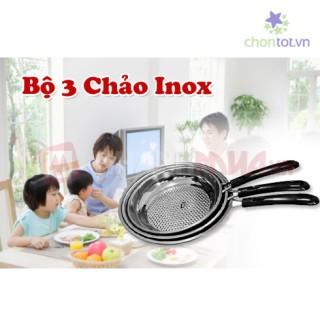 BỘ 3 CHẢO INOX-90 - DT0031