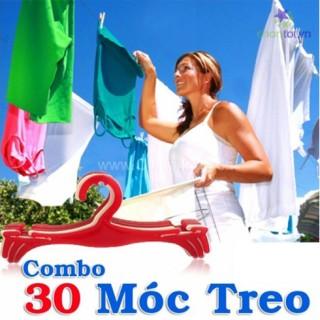 COMBO 30 MÓC TREO ĐỒ PT22-60  - DT0031