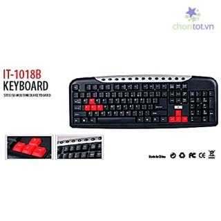 BÀN PHÍM INTEX IT-1018B-115 - DT0031