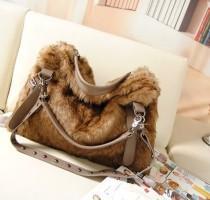 Túi xách lông thú TX8025 - 330 - DT0032
