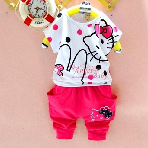Đồ Bộ Bé Gái Hello Kitty - DB_001_0814 - DT0036